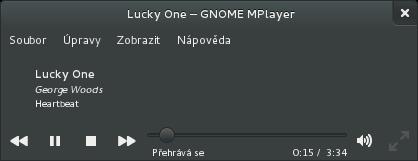 GNOME-mplayer vám dobře zapadne do prostředí GNOME-shell
